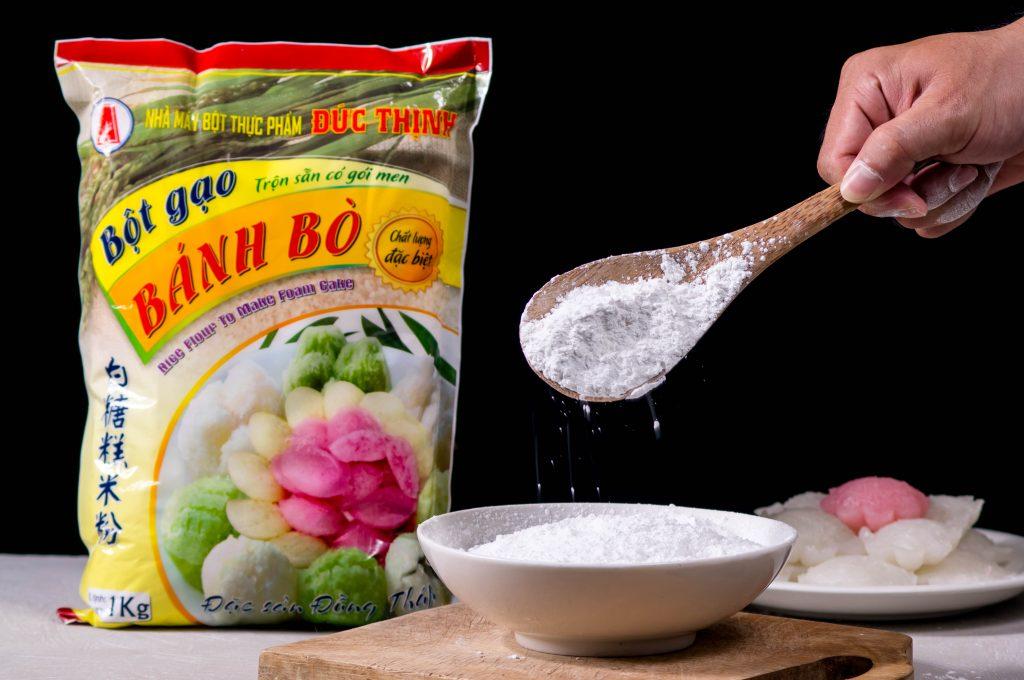 bột gạo bánh bò đặc biệt